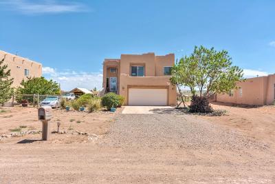 Rio Rancho Single Family Home For Sale: 830 Nightglow Avenue NE