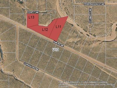 Rio Rancho NM Residential Lots & Land For Sale: $7,000