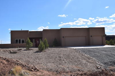 Placitas Single Family Home For Sale: 5 Aztec Court