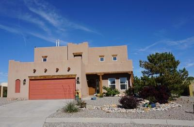 Rio Rancho Single Family Home For Sale: 5457 Roosevelt Loop NE