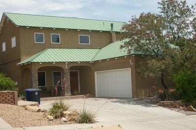 Albuquerque Single Family Home For Sale: 4605 Camden Court NW