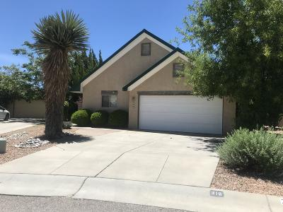 Los Ranchos Single Family Home For Sale: 316 La Chamisal Lane NW