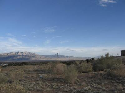 Rio Rancho NM Residential Lots & Land For Sale: $45,000