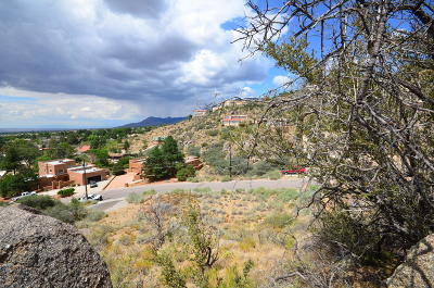 Albuquerque Residential Lots & Land For Sale: 13312 Hidden Valley Road NE