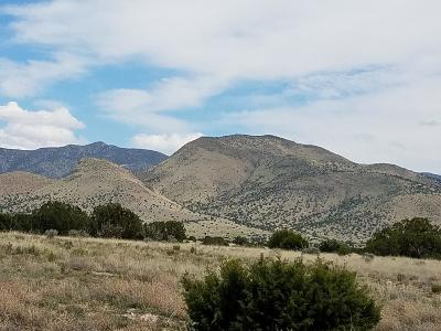 Socorro County Residential Lots & Land For Sale: Lots 38, 39 Magdalena Ranch Estates
