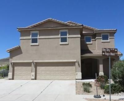Los Lunas Single Family Home For Sale: 3621 Wagon Wheel Street SW