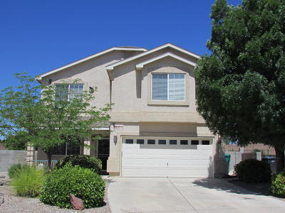 Rio Rancho Single Family Home For Sale: 640 Shore Meadows Drive NE