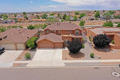 Rio Rancho Single Family Home For Sale: 7252 Assisi Hills Road NE