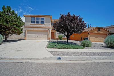 Rio Rancho Single Family Home For Sale: 525 Peaceful Meadows Drive NE