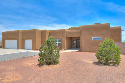 Rio Rancho Single Family Home For Sale: 4810 Shin Avenue NE