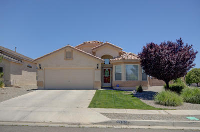 Rio Rancho Single Family Home For Sale: 3300 Tin Cup Road NE