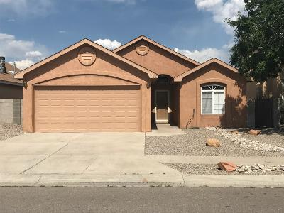 Bernalillo County Single Family Home For Sale: 480 Timothy Court SW
