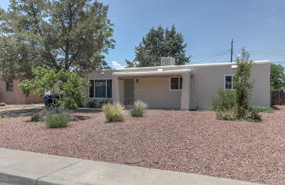 Albuquerque Single Family Home For Sale: 1613 Virginia Street NE