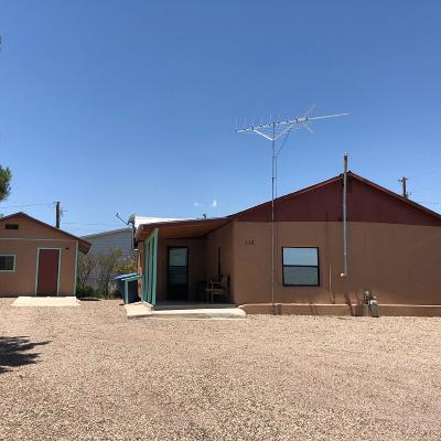 Socorro County Single Family Home For Sale: 112 Arroyo Dr.
