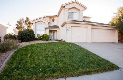 Albuquerque Single Family Home For Sale: 4328 Rancho Centro NW