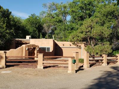 Los Ranchos Single Family Home For Sale: 426 Pueblo Solano Road NW