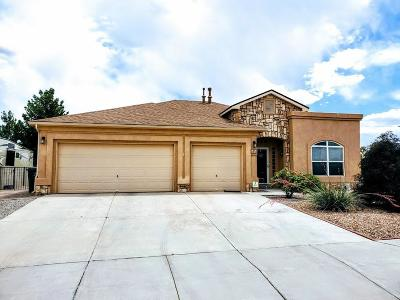 Rio Rancho Single Family Home For Sale: 4952 Night Hawk Road NE