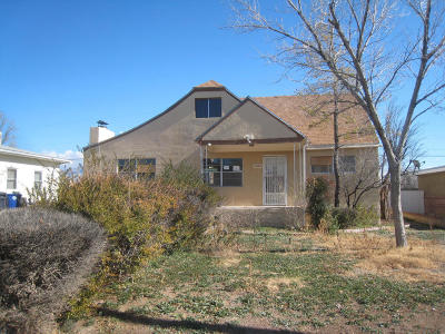 Albuquerque Single Family Home For Sale: 412 Grove Street NE