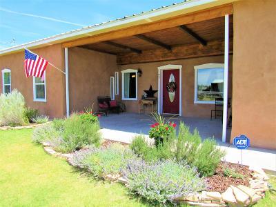 Valencia County Single Family Home For Sale: 45 Olguin Road