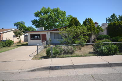 Albuquerque Single Family Home For Sale: 2655 Oro Vista Road NW