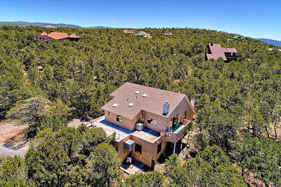 Tijeras, Cedar Crest, Sandia Park, Edgewood, Moriarty, Stanley Single Family Home For Sale: 35 Paseo De Paz