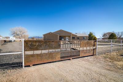 Valencia County Single Family Home For Sale: 16 Avenida Alegre