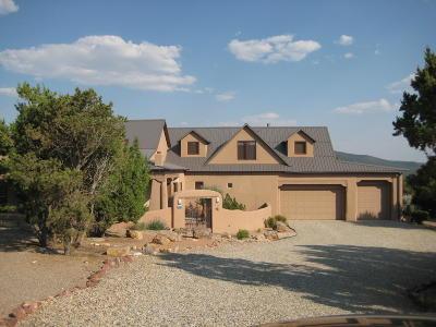 Tijeras, Cedar Crest, Sandia Park, Edgewood, Moriarty, Stanley Single Family Home Active Under Contract - Short : 14 Via Entrada