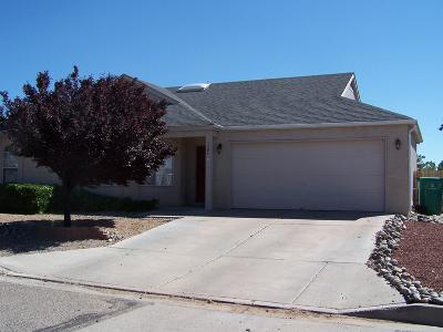 Rio Rancho Single Family Home For Sale: 1784 Strawberry Drive NE
