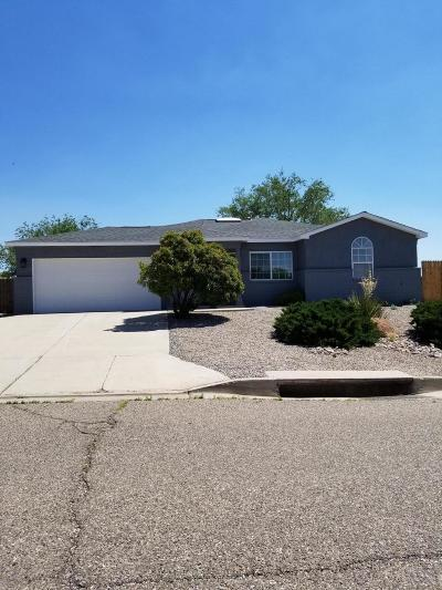 Rio Rancho Single Family Home For Sale: 7329 Mackenzie Drive NE