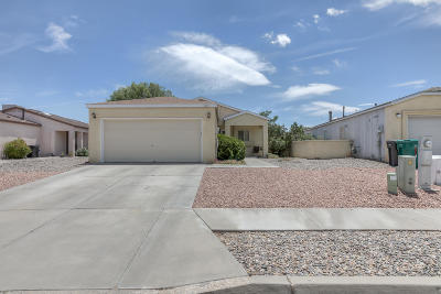 Rio Rancho Single Family Home For Sale: 1070 Cactus Drive NE