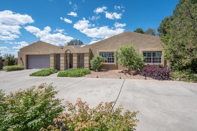 Single Family Home For Sale: 8909 Osuna Road NE