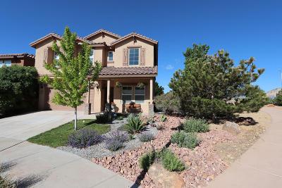 Rio Rancho Single Family Home For Sale: 435 Paseo Roja Place NE