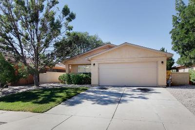 Rio Rancho Single Family Home For Sale: 908 Somerset Meadows Drive NE