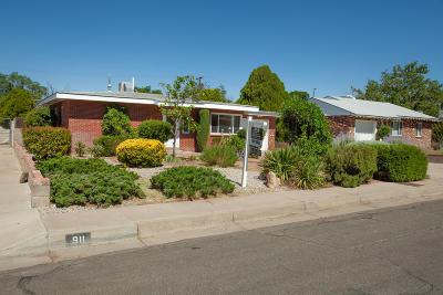 Albuquerque NM Single Family Home For Sale: $246,000
