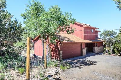 Tijeras, Cedar Crest, Sandia Park, Edgewood, Moriarty, Stanley Single Family Home For Sale: 25 Tecolote Road