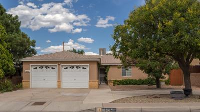 Albuquerque Single Family Home For Sale: 1004 Alcazar Street NE