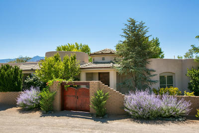 Corrales Single Family Home For Sale: 178 Loma Del Oro