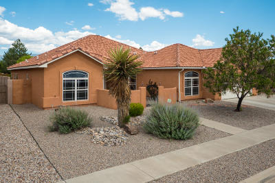 Albuquerque NM Single Family Home For Sale: $449,500