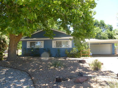 Albuquerque Single Family Home For Sale: 3406 California Street NE