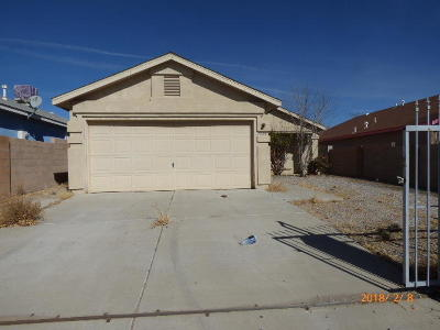 Albuquerque Single Family Home For Sale: 7501 Rainwater Road SW