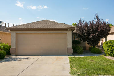 Albuquerque Single Family Home For Sale: 9632 Adina Lane NW