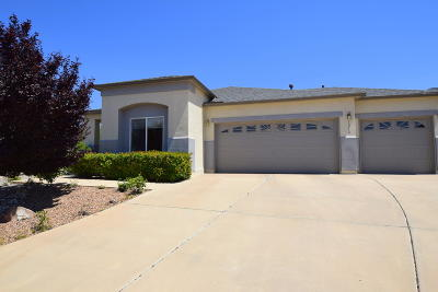 Rio Rancho Single Family Home For Sale: 1218 Confection Court SE