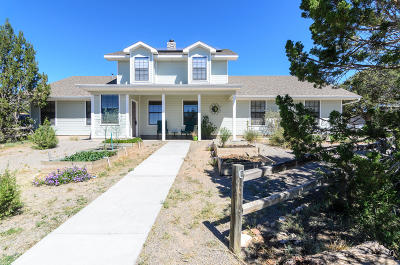 Tijeras, Cedar Crest, Sandia Park, Edgewood, Moriarty, Stanley Single Family Home For Sale: 1003 Mountain Valley Road