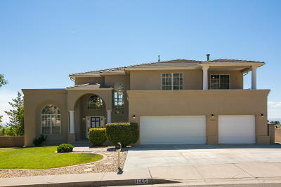 Albuquerque Single Family Home For Sale: 1605 Valdez Drive NE
