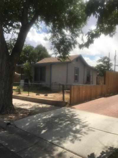 Albuquerque Single Family Home For Sale: 1305 7th Street NW