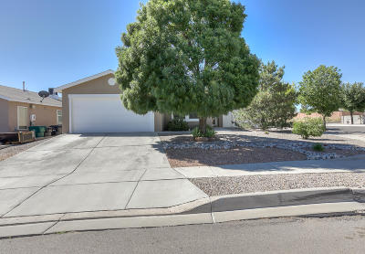 Rio Rancho Single Family Home For Sale: 3796 Rancher Loop NE