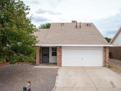 Valencia County Single Family Home Active Under Contract - Short : 8 Apache Plume Road