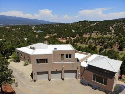 Tijeras, Cedar Crest, Sandia Park, Edgewood, Moriarty, Stanley Single Family Home For Sale: 2 Concetta Court