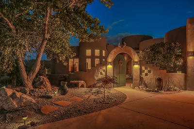 Sandia Park Single Family Home For Sale: 23 Canyon Ridge Drive