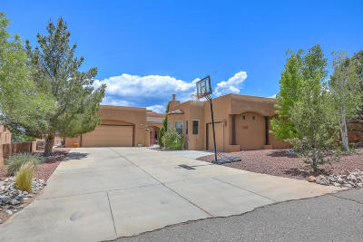 Rio Rancho Single Family Home For Sale: 3110 Rachel Court NE